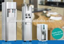 school/home/office using bottleless water cooler. hot and cold water dispenser with filters