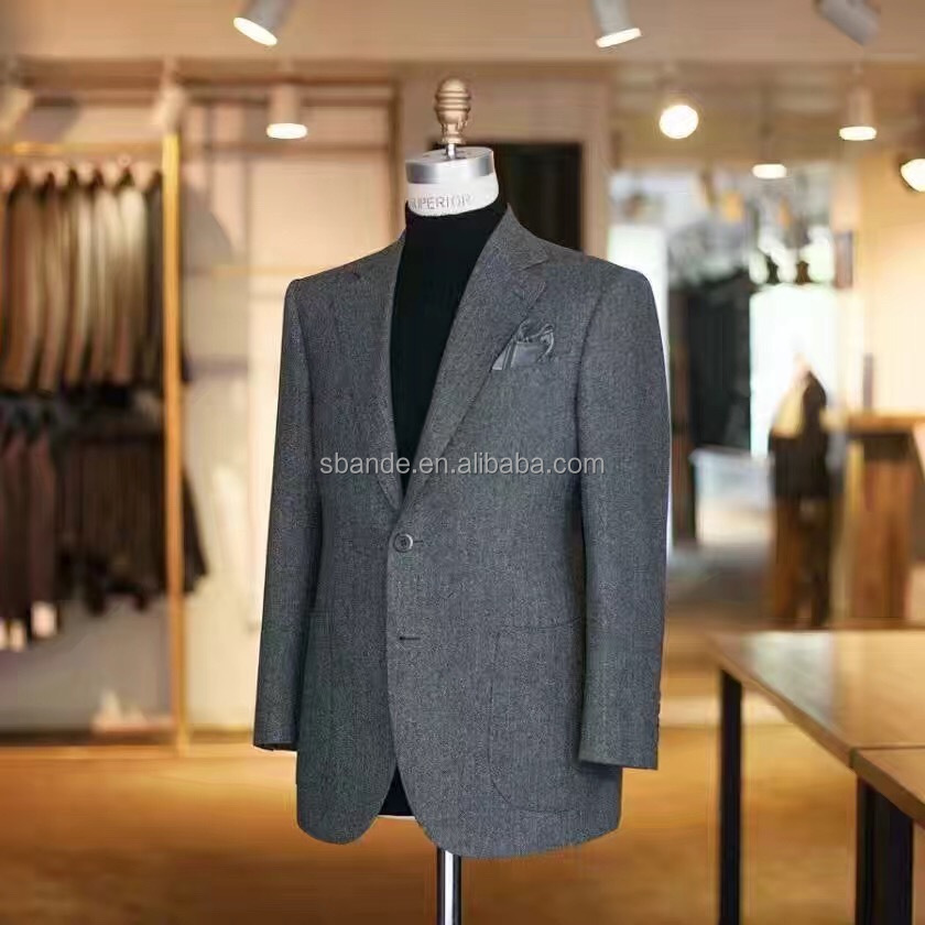 2017 high quality men's fashion custom made suit with CMT price