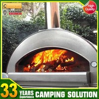 Portable Outdoor Fireplace Pizza Oven Wood Burning