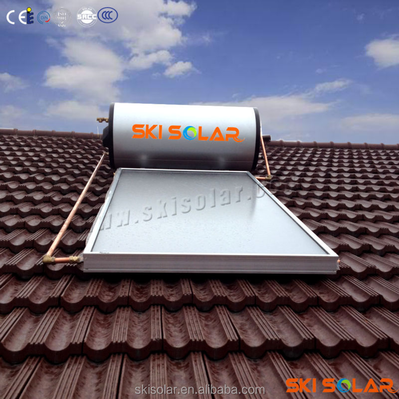 water cooled solar water tube heater panel