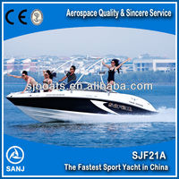 SANJ fiberglass boats for fishing SJF21A with CE&CCS