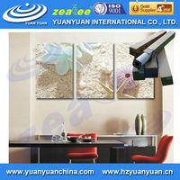 Eco solvent natura material cork wallcovering wallpaper for home decoration