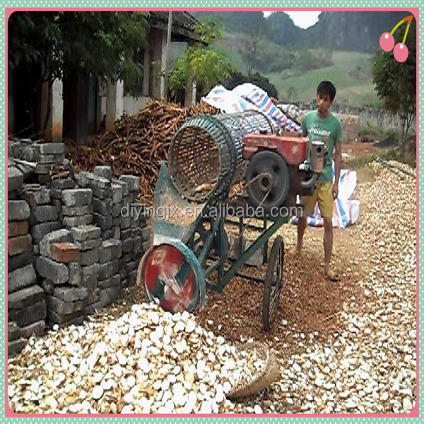10 ton capacity cassava chips machine/cassava peeling machine