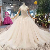 Jancember LSS112 wedding dresses off the shoulder sweetheart shiny wedding gown with train china wholesale 2018 new design