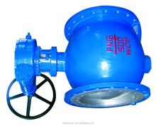 Low Price SPQ347Y Manual Eccentric Spherical ball Valve