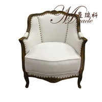 Alibaba Louis Style Solid Leisure Chair Furniture Made In China