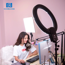 Nanguang camera circle led light CN-R640 dimmable ring light 18inch for beauty