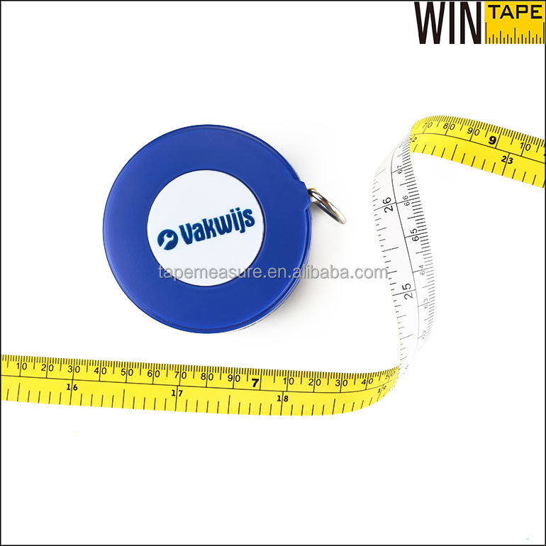 "Best Selling Products In Europe 79"" 64 Pi PVC Tape Pipe Diameter Tape For Measuring Tree Diameter"