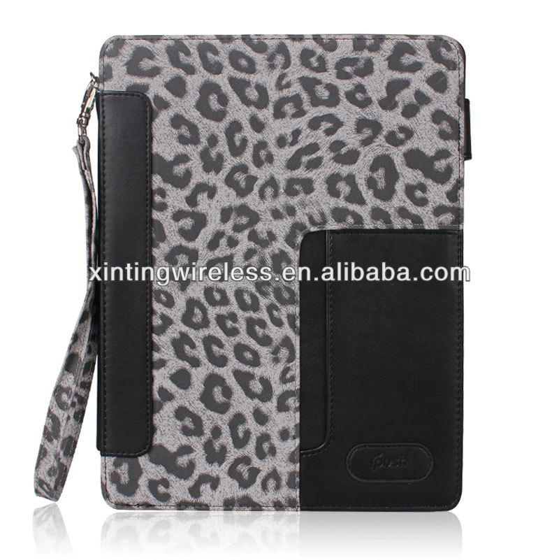 Fashion For Apple Ipad Mini PU Leather Wallet Flip Case Cover; For Ipad Mini PU Leather Case Cover
