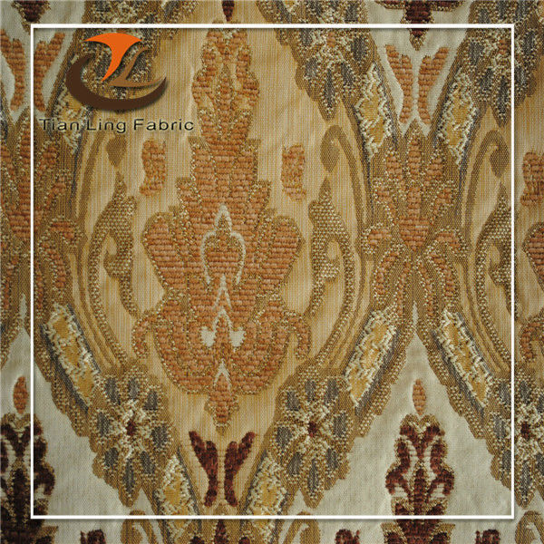 classical design jacquard upholstery fabric