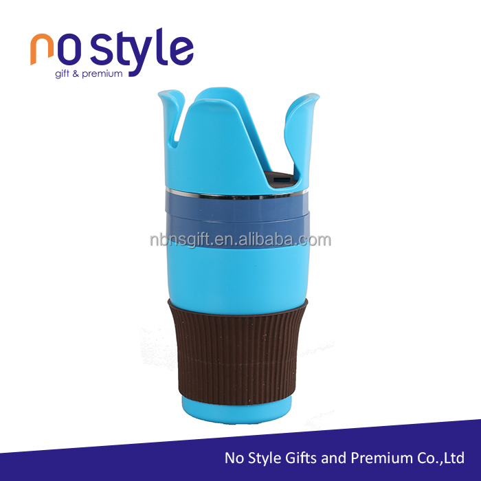 portable silicone cup holder, high quality multifunctional car cup holder