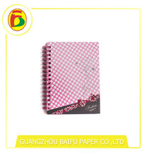 Good quality colorful spiral binding hardcover book printing
