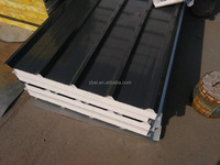 light weight building material EPS/rock wool /glass wool roof sandwich panel hot sale usually used 2016 on sale ROOFING