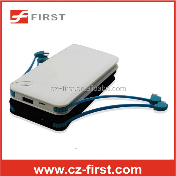 New design 8000mah Li-polymer battery power bank