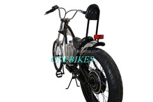 36v 500w brushless hi speed harley electric chopper bike