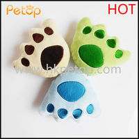 Cute Bear's Footprint Toys for pet dogs