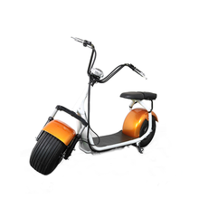 CE approved 18*9.5 inch Two big wheels Vehicle 1000w 60v citycoco motorcycle