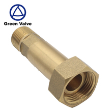 Green-GutenTop High Quality Brass Water Meter Connector /Brass Fittings/Brass Couplings for PEX -al -PEX Pipes Pe Pipe
