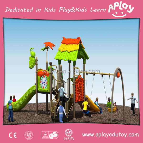 Male sex female sex green eco friendly sets garden playground equipment