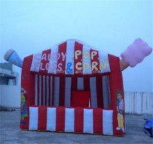 Inflatable booth, pop corn tent for rental K5010
