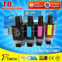 With ISO,STMC,SGS,CE Approved lc900 wholesale compatible ink cartridge for brother