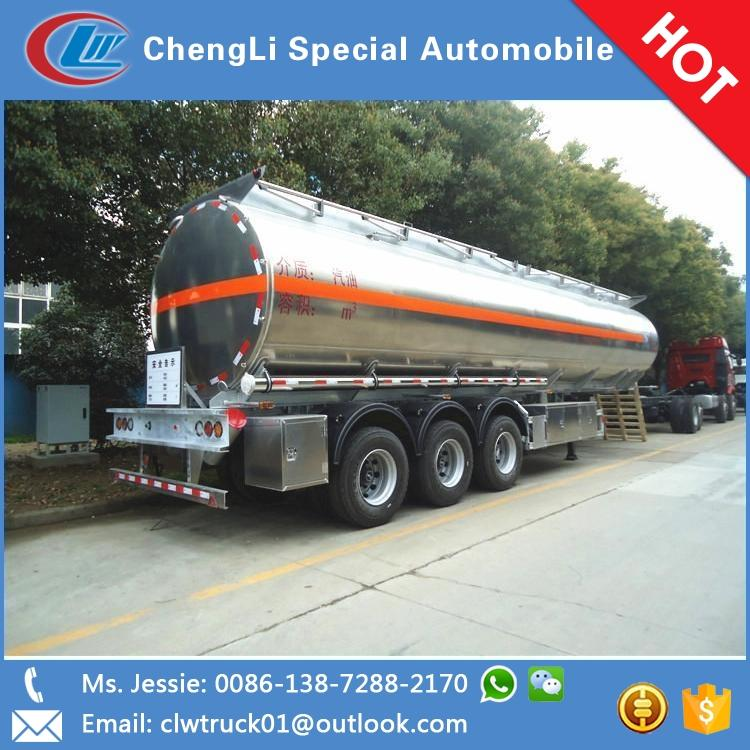 Factory direct sales used oil tankers new oil tanker semi trailer sold in Malawi