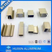 various sizes 6063 t5 aluminium profile for glass roof aluminum products