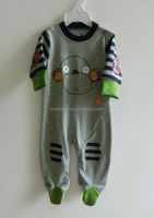 2015 New Design 100% cotton fabric baby boys romper, baby clothes
