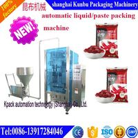 China Supplier Automatic honey pouch packing machine for 200ml pouch 0086-13917284046
