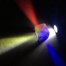 High quality optical cube prism Splitter X-cube prism for sale