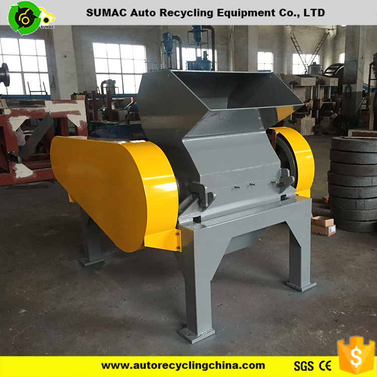Factory supply used rubber crusher machine with CE