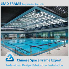 Steel structure cover prefabricated swimming pool