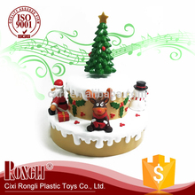 New product 2017 Christmas Decorative Music Box