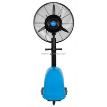 Debenz portable moving cooling mist fan with wheels