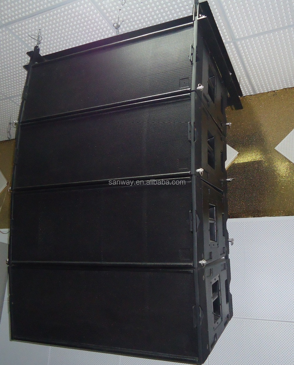 w8lc sanway audio line array speaker stand