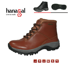 Hanagal cheap stock shoes genuine leather hiking shoes waterproof shoes