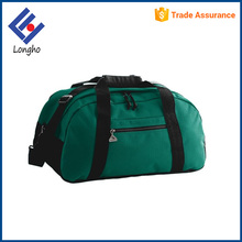 Hot sale fashion duffel travelling bag manufacturers, different zipper puller promotional cheap travel bag