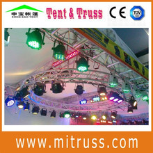aluminum 6061/6082-T6 circle shape truss for dj lighting