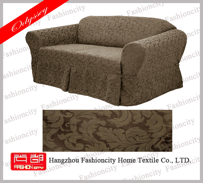 2016 jacquard high quality waterproof slip sofa cover