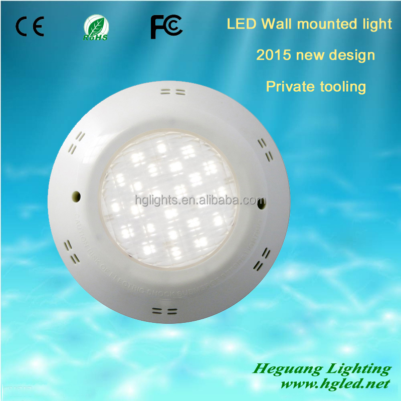 Fiberglass Niche LED Underwater Lights for poor 1W super-brightness IP68, 2 years warranty!