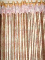 2015 china wholesale ready made curtain lace valance curtains