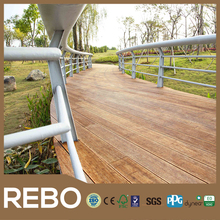 Outdoor decking boards strand woven bamboo flooring