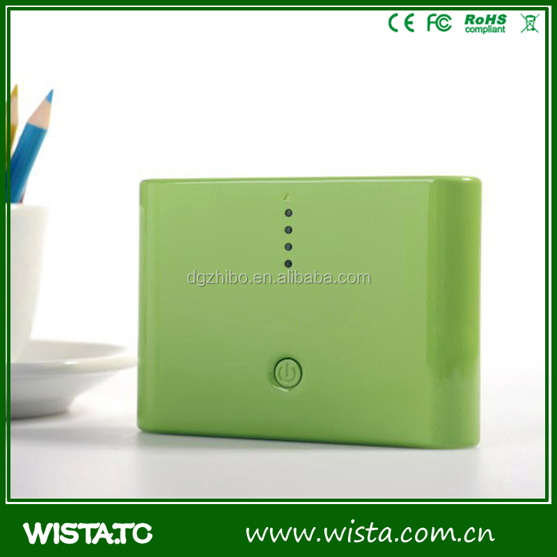 High quality portable charger power bank 10400mah maker