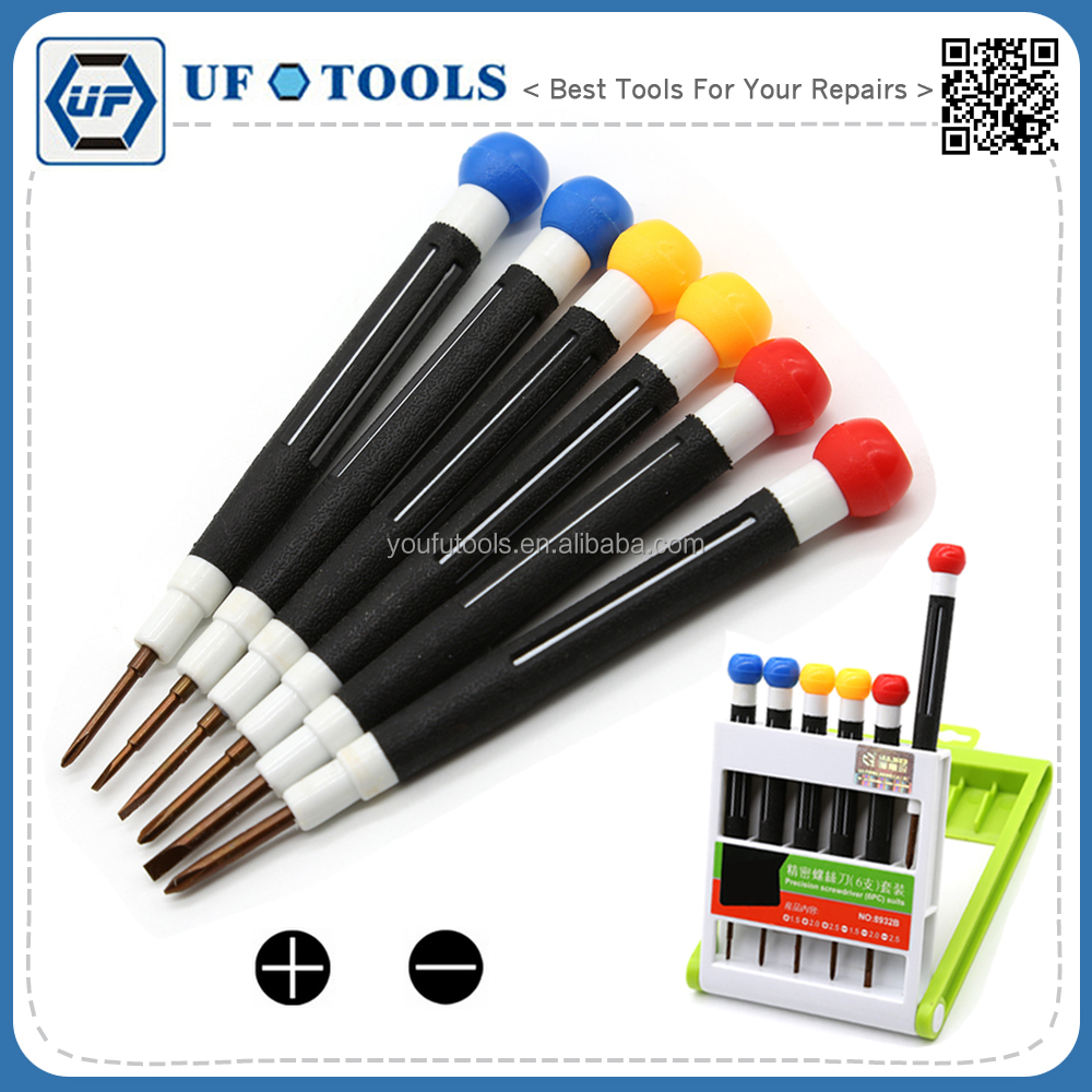 cell phone repair screwdriver set, repair tool kit,precision phillips slotted screwdriver set