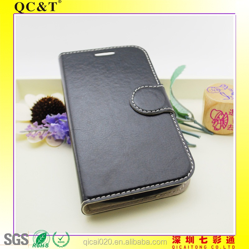 PC+PU window leather case For Samsung S7562/S7560/Galaxy Trend Duos/S7580