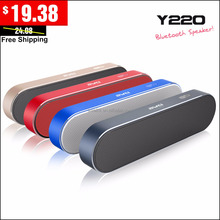 OEM bluetooth AWEI Y220 Easy Metal Portable bluetooth speaker