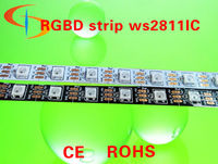 digital addressable rgb led strip ws2811(ws2812b) built-in IC