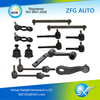 14 Piece front suspension kit small ball joints tie rod end stabilizer link for 1998-2002 crown K8953 18249 F8AC3B4