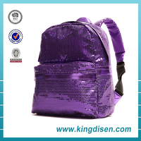 Fashion wholesale teen sequin school book bag