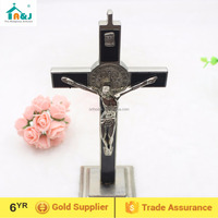 St Benedict Table Crucifix